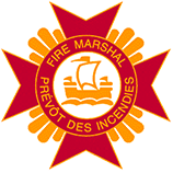 Office of the fire marshal - Government of nb logo